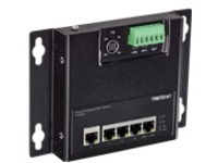 TRENDnet TI-PG50F - Industrial - switch - 5 ports - unmanaged