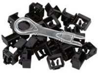 Black Box LockPORT - outlet port lock kit