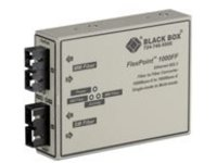 Black Box FlexPoint - media converter - GigE