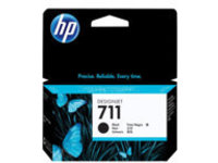 HP 711 - black - original - DesignJet - ink cartridge