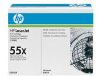 HP 55X - 2-pack - High Yield - black - original - LaserJet - toner cartridge (CE255XD)