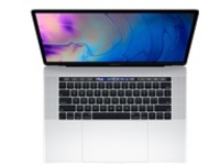 "Apple MacBook Pro with Touch Bar - Core i9 2.3 GHz - macOS Catalina 10.15 - 16 GB RAM - 512 GB SSD - 15.4"" IPS 2880 x 1800 (WQXGA+) - Radeon Pro 560X / UHD Graphics 630 - Wi-Fi, Bluetooth - silver - kbd: US"
