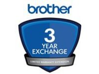 Brother Express Exchange Limited Warranty Extension - 3 years - shipment