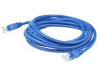 AddOn patch cable - 2.13 m - blue