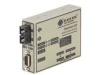 Black Box FlexPoint RS-232 to Fiber Converter - serial port extender - RS-232