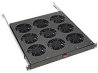 Tripp Lite Fan Tray for 19 in. Racks - 1U, 9 120V High-Performance Fans, 864 CFM, C14 Inlet rack fan tray - 1U