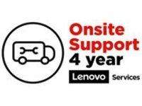 Lenovo On-Site Repair - extended service agreement - 4 years - on-site