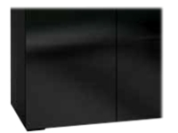 Salamander OSLO - Dual Monitor Bundle - cabinet unit (low profile)