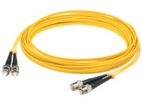 AddOn 9m ST OS1 Yellow Patch Cable - patch cable - 9 m - yellow