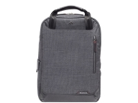 "Brenthaven Collins Convertible Backpack - Notebook carrying backpack - 15"" - graphite"