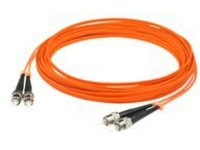 AddOn 10m ST OM1 Orange Patch Cable - patch cable - 10 m