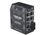 Black Box Heavy-Duty Edge Switch Standard - switch - 6 ports
