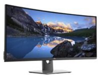 "Dell UltraSharp U3818DW - LED monitor - curved - 38"" (37.5"" viewable) - 3840 x 1600 WQHD+ - IPS - 300 cd/m² - 1000:1 - 5 ms - 2xHDMI, DisplayPort - speakers - black - for XPS 13 9380, 15 9570, 15 9575 2-in-1"