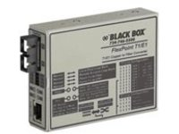 Black Box FlexPoint T1/E1 to Fiber Converter - fiber media converter