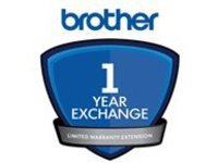 Brother Express Exchange Limited Warranty Extension - 1 year - shipment