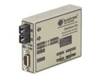 Black Box FlexPoint RS-232 to Fiber Converter - serial port extender