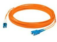 AddOn 40m LC to SC OM1 Orange Patch Cable - patch cable - 40 m - orange