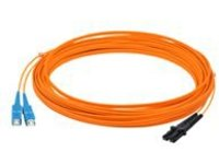 AddOn 2m MT-RJ to SC OM1 Orange Patch Cable - patch cable - 2 m - orange