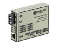 Black Box FlexPoint - fiber media converter - 100Mb LAN