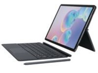 Samsung Keyboard Cover EF-DT860 - keyboard and folio case - with touchpad - gray