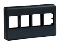 Panduit NetKey Modular Furniture Faceplate - faceplate