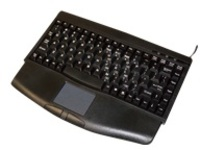iKey - keyboard - with touchpad - black