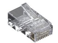 Black Box CAT6 Modular Plug - network connector - TAA Compliant