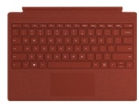 Microsoft Surface Pro Signature Type Cover - keyboard - with trackpad - English - poppy red
