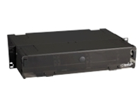 "Black Box Rackmount Fiber Panels - patch box - 2U - 19""/23"""
