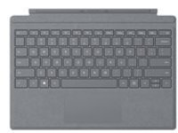 Microsoft Surface Pro Signature Type Cover - keyboard - with trackpad - US - light charcoal