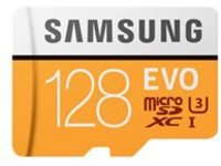 Samsung EVO MB-MP128GA - flash memory card - 128 GB - microSDXC UHS-I