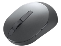 Dell MS5120W - mouse - 2.4 GHz, Bluetooth 5.0 - titan gray