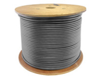 AddOn bulk cable - 304.8 m - gray