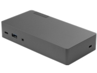Lenovo Thunderbolt 3 Essential Dock - port replicator - Thunderbolt 3 - HDMI, DP - GigE