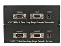 StarTech.com VGA over CAT5 Video Extender with RS232 Serial - Serial and VGA Extender - Up to 300 m (ST121UTP232) - mon…