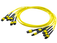 AddOn 1m 6xMPO OS1 Yellow Trunk Cable - patch cable - 1 m - yellow