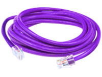 AddOn patch cable - 4.57 m - purple