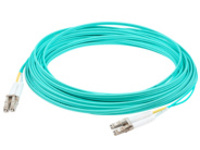 AddOn patch cable - 17 m - aqua