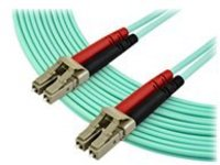 StarTech.com 7m OM3 LC to LC Multimode Duplex Fiber Optic Patch Cable - Aqua - 50/125 - LSZH Fiber Optic Cable - 10Gb (…