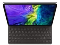Apple Smart - keyboard and folio case - QWERTY - Danish
