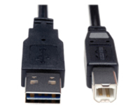 Tripp Lite 6ft USB 2.0 High Speed Cable Reverisble A to B M/M 6' - USB cable - 1.83 m