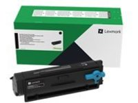 Lexmark - black - original - toner cartridge - LRP