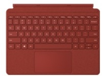 Microsoft Surface Go Type Cover - keyboard - with trackpad, accelerometer - English - poppy red