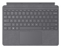 Microsoft Surface Go Type Cover - keyboard - with trackpad, accelerometer - English - light charcoal