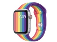 Apple 44mm Sport Band - Pride Edition - watch strap for smart watch