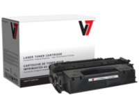 V7 - High Yield - black - compatible - toner cartridge (alternative for: HP Q5949X)