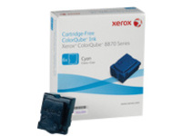 Xerox ColorQube 8870 - 6-pack - cyan - solid inks