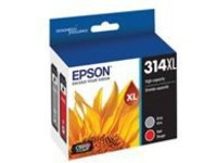 Epson Color Multi-pack 314XL with Sensor - 2-pack - High Capacity - gray, red - original - ink cartridge