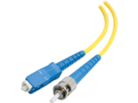C2G 7m SC-ST 9/125 Simplex Single Mode OS2 Fiber Cable - Yellow - 23ft - patch cable - 7 m - yellow