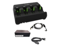 Zebra 4-Slot Battery Charger Kit - battery charger